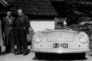 La prima Porsche Tipo 1 Roadster