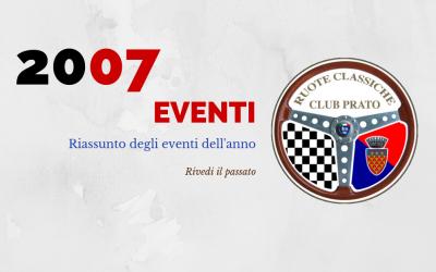 2007 Eventi in sintesi
