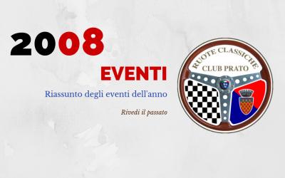 2008 Eventi in sintesi