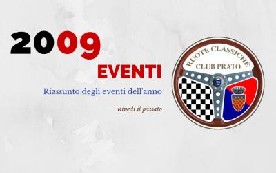 2009 Eventi in sintesi