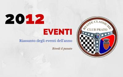 2012 Eventi in sintesi