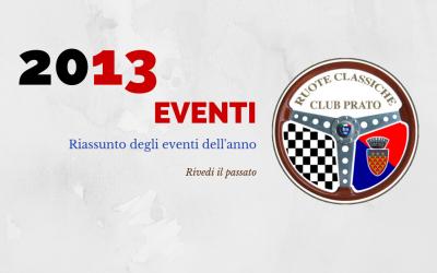 2013 Eventi in sintesi