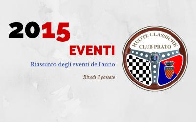 2015 Eventi in sintesi