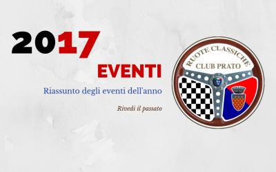 2017 Eventi in sintesi